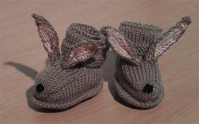 小兔婴儿鞋 - 鸟妈 - 鸟妈的博客